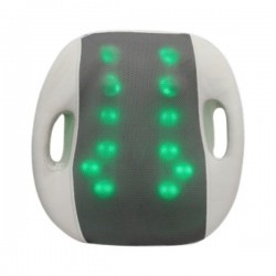 Shiatsu Massage Cushion with Heat   Lumbar Support Back Massage   Portable Handles for Home or Office(Turtle Massage)